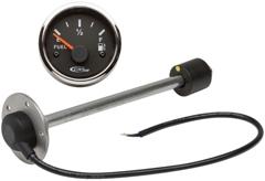 Elektrischer Füllstandsanzeiger 10-180 Ω, 12/24 V, H 39,0 cm