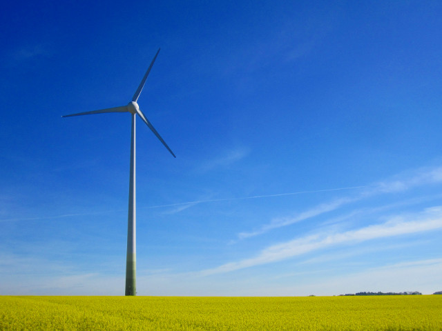 ATG Windkraftanlage, Enercon E-53 800 kW in Glött